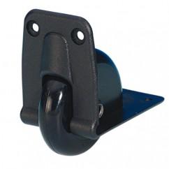 Adam Hall - Recessed Castor - 58 mm - plastic