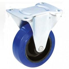 Adam Hall - Fixed castor 100 mm - Guitel Blue Wheel