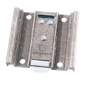 Adam Hall - Hardware 38090 - Einsteckplatte für Guitel Rollen 100 mm