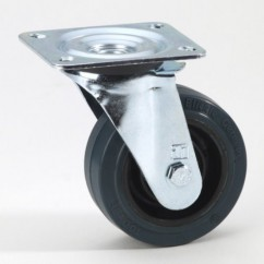 Adam Hall - Blickle Heavy Duty Green Wheel 100 mm
