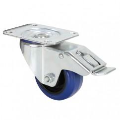 Adam Hall - Castor 80 mm with Brake Blue
