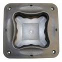 Adam Hall - Hardware 3403 - Griffschale Kunststoff schwarz