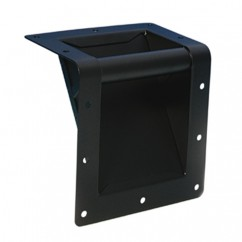 Adam Hall - Bar Handle for top edge mounting - black