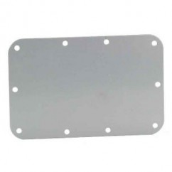 Adam Hall - Back plate for recessed 34082 handle