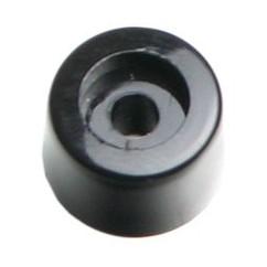 Adam Hall - Plastic foot 12 x 8 mm black