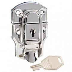 Adam Hall - Medium drawbolt with lock chrome