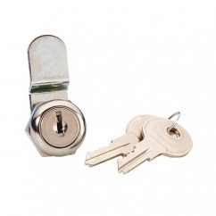 Adam Hall - Cylinder lock to fit rack drawers