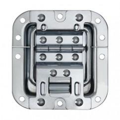 Adam Hall - Heavy duty hinge with lid stay in medium recessed dish