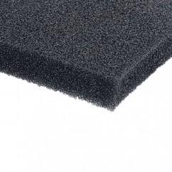 Adam Hall - Speaker Front Foam black (200 cm x 100 cm x 12 mm)