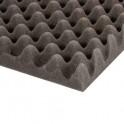 Adam Hall - Noppenschaumstoff grau (200 cm x 100 cm x 50 mm)