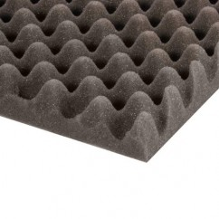 Adam Hall - Alveolar eggbox acoustic foam (200 cm x 100 cm x 50 mm)