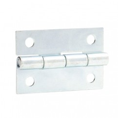 Adam Hall - Hinge, small, 1,3 mm Steel zinc plated