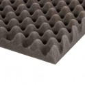Adam Hall - Noppenschaumstoff grau (200 cm x 100 cm x 30 mm)