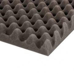 Adam Hall - Mousse acoustique alvéolée (200 cm x 100 cm x 30 mm)