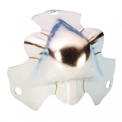 Adam Hall - Light duty knuckle corner nickel plated