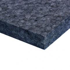 Adam Hall - Mousse de garniture Ethafoam noire (200 cm x 100 cm x 25 mm)