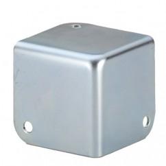 Adam Hall - Corner small square zinc - leg length 41 mm