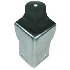 Adam Hall - Case corner combined with brace 1.5 mm steel zinc plated