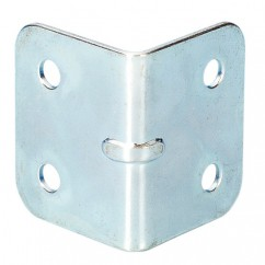 Adam Hall - Medium corner-brace zinc plated 1,0mm