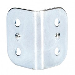 Adam Hall - Large corner brace radius zinc plated