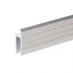 Adam Hall - Aluminium h-Section for 7 mm Rack Doors