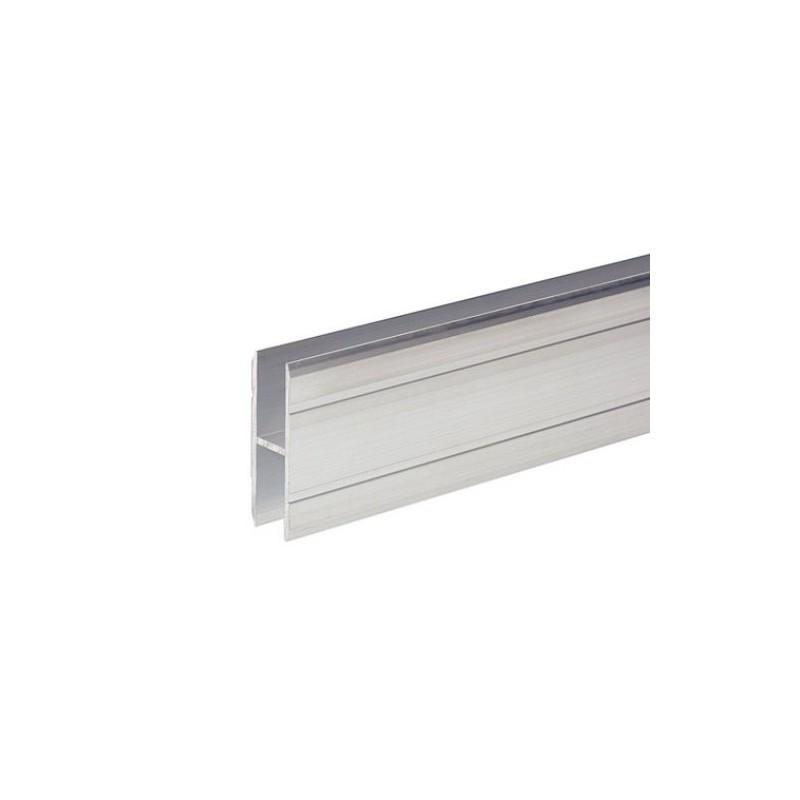 adam hall profil aluminium en h pour jonction de panneaux mat riau 10 mm en vente chez global. Black Bedroom Furniture Sets. Home Design Ideas
