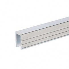 Adam Hall - Aluminium Capping Channel for 7 mm Dividing Wall