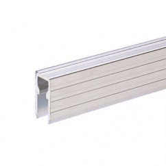 Adam Hall - Aluminium Capping and Base Channel for 9.5 mm Dividing Walls