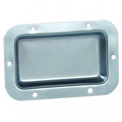Adam Hall - Dish steel zinc plated