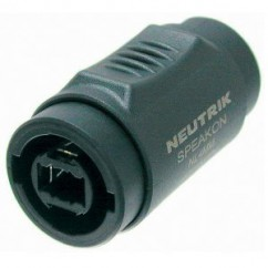 Neutrik - Adapter Speakon 2/4-pole to Speakon 2/4-pole