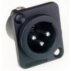 Amphenol AC Series - XLR Socket universal male black