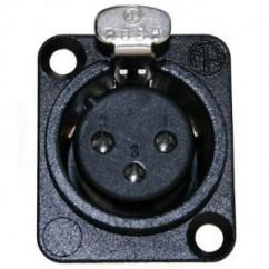 Neutrik - XLR Chassis Connector female black
