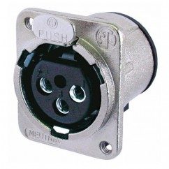 Neutrik - XLR socket male