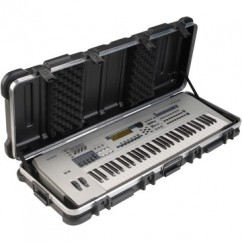 SKB Cases - 1SKB-4214W - Keyboard Case for 61-Key Keyboards