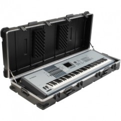 SKB Cases - 1SKB-6118W - Keyboard Case for 88-Key Keyboards