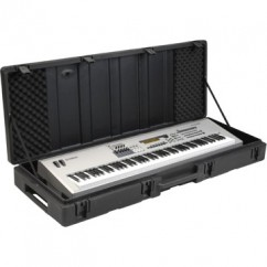 SKB Cases - 1SKB-R6020W - Keyboard Case for 88-Key Keyboards with Wheels