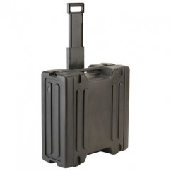 """SKB Cases - 1SKB-R4W - 19"""" Rack Trolley Case 4 U"""