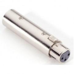 Adam Hall - Adapter 3-pole XLR female to 5-pole XLR male