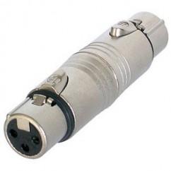 Neutrik - Adapter XLR female to XLR female