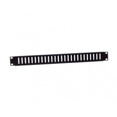 Adam Hall - Ventilation Rack Panel 1 U steel black
