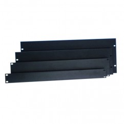 Adam Hall - Rack Panel 2 U aluminum black
