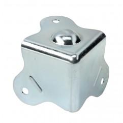 Adam Hall - Case Corner three-leg with integrated Foot 5 mm inside radius