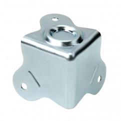 Adam Hall - Case Corner three-leg with Stacking Dimple inner radius 5 mm