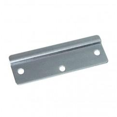 Adam Hall - Keeper plate 1,6 mm steel zinc plated