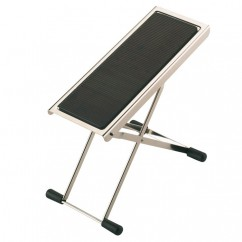 K & M Stands - M14670 - Footrest nickle-plated