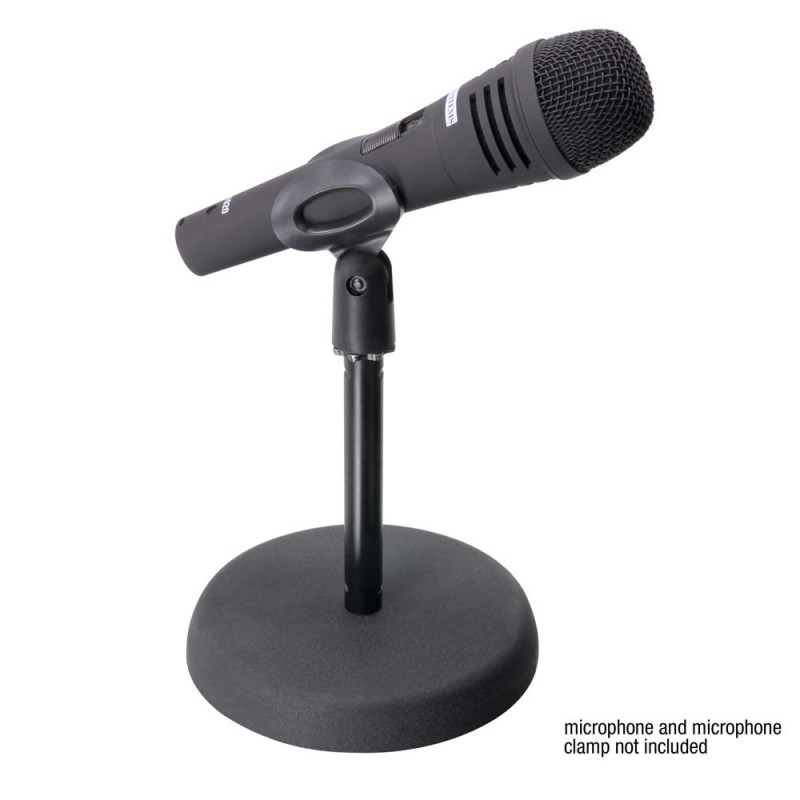 adam hall s8bb tabletop microphone stand for sale at global audio store microphone stand. Black Bedroom Furniture Sets. Home Design Ideas