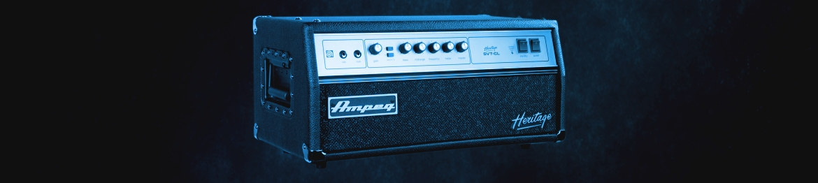 Amplifiers for Guitars & Basses